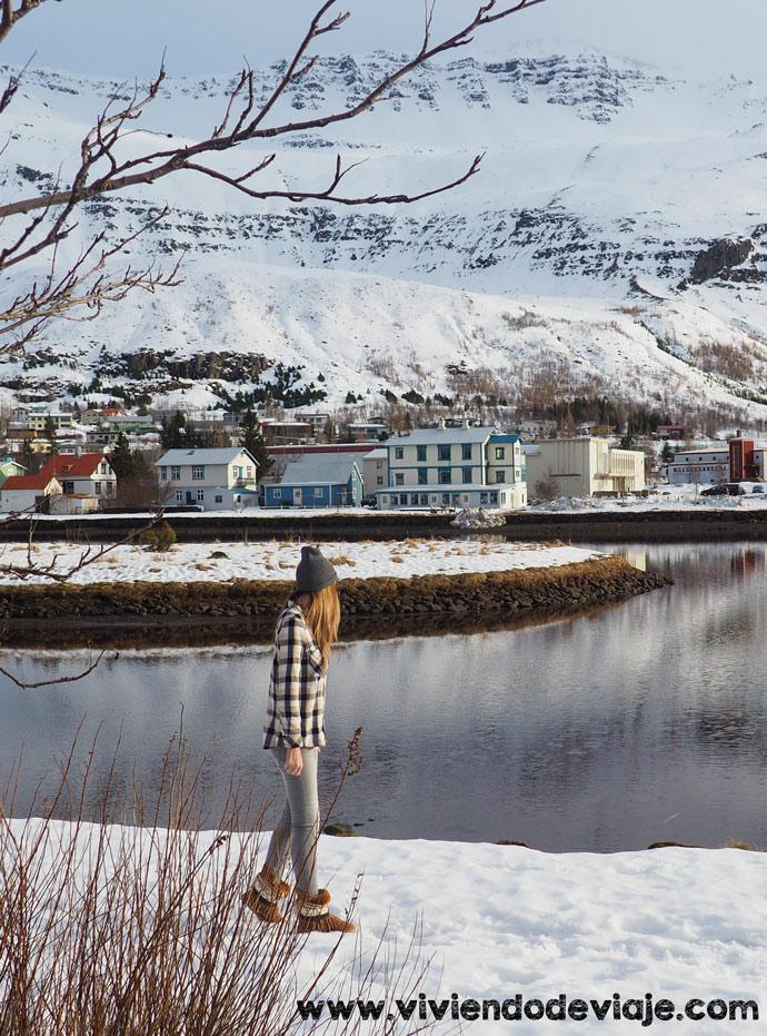 Ruta por Islandia en 10 días, pueblo de Seydisfjordur