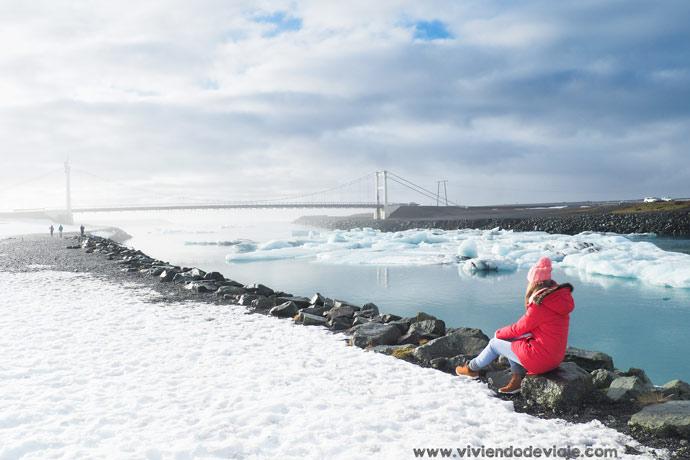 Ruta por Islandia, lago glaciar Jokulsarlon