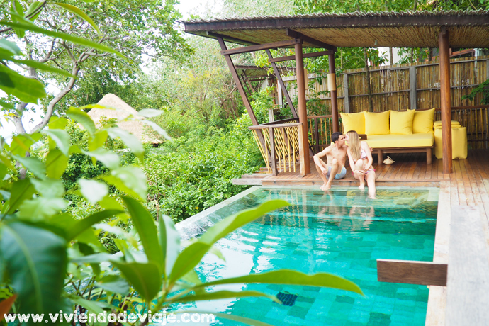 Six Senses Samui, piscina privada