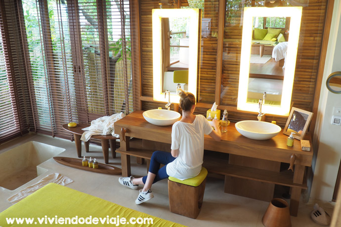 Six Senses Samui, cuarto de baño