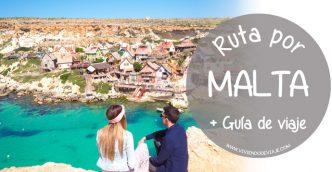 Ruta por Malta en 3 días + Guía de Viaje