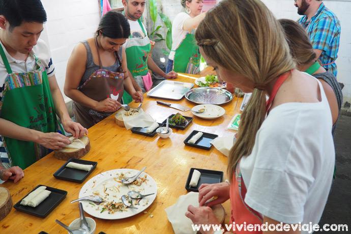 Que hacer en Chiang Mai, curso de cocina tailandesa