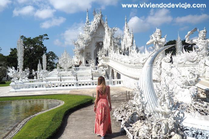 Que hacer en Chiang Mai, Templo Blanco en Chiang Rai
