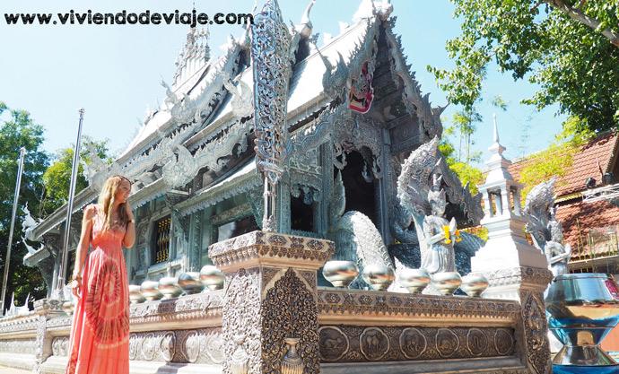 Que ver en Chiang Mai, Tailandia, Templo de Plata
