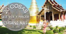 20 cosas que ver y hacer en Chiang Mai