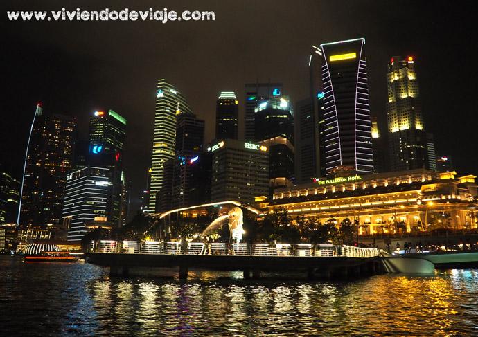 Que ver en Singapur, paseo en barco