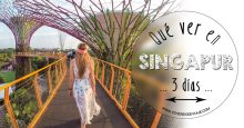 Que ver en Singapur en 3 días + datos prácticos