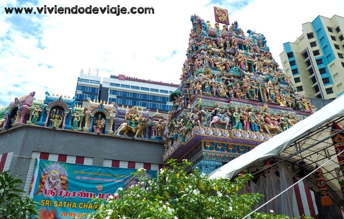 Que ver en Singapur, Sri Veeramakaliamman Temple