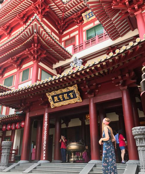 Singapur en 3 días - Buddha Tooth Relic Temple