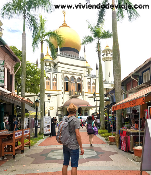 Que ver en Singapur, Mezquita del Sultán