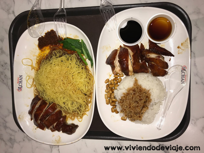 Que hacer en Singapur, restaurante Estrella Michelin