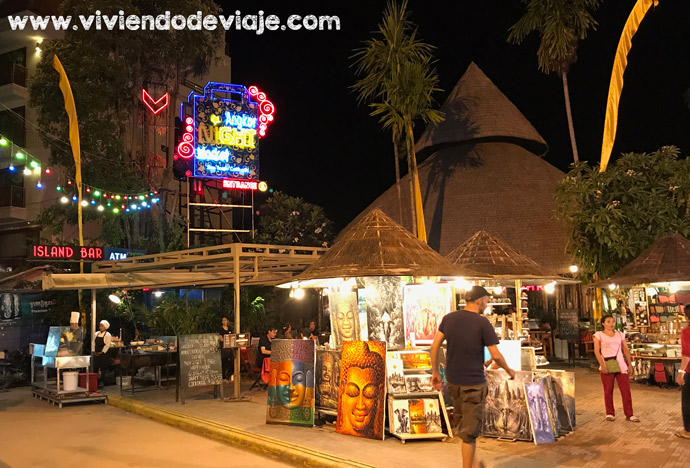 Dónde alojarse en Siem Reap, Angkor Night Market