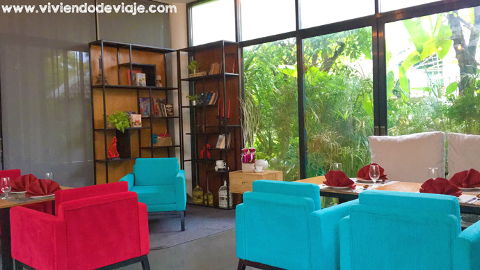 Dónde alojarse en Siem Reap, restaurante Hotel Chornivada