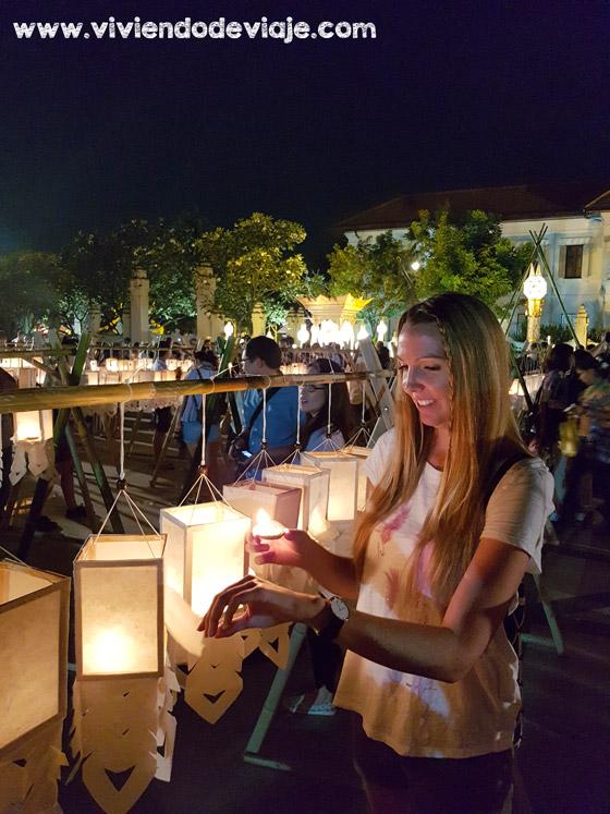 Eventos durante el Loy Krathong y el Yee Peng