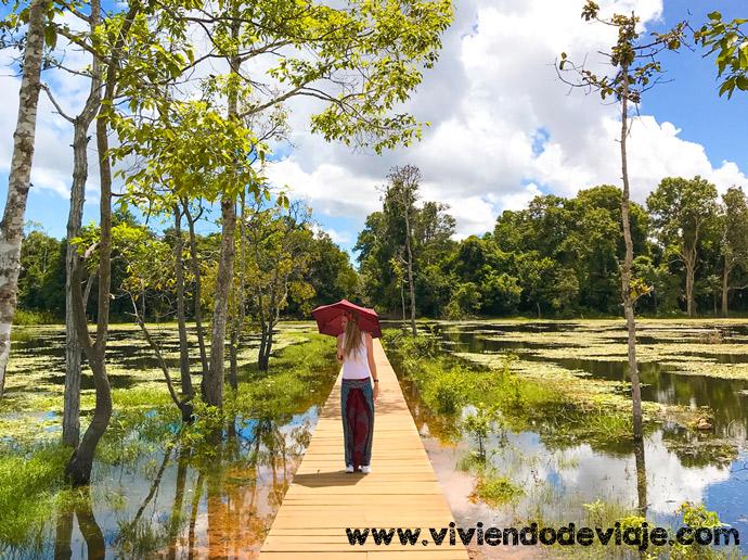 Circuito largo por los Templos de Angkor, Neak Pean