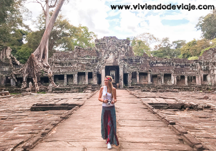 Circuito largo por los Templos de Angkor, Preah Khan