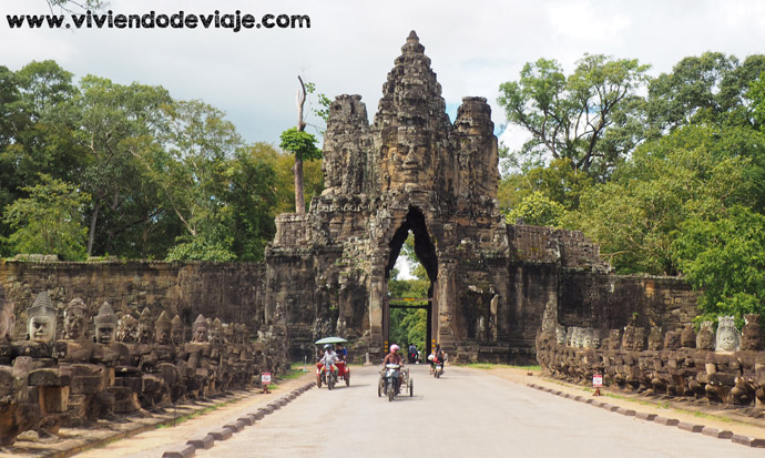 Recorrer los Templos de Angkor