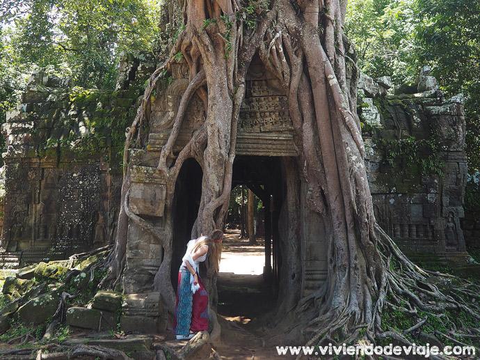 Circuito largo por los Templos de Angkor, Ta Som