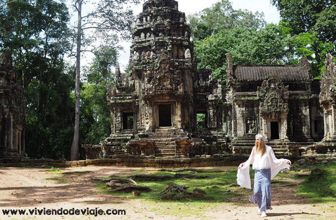 Circuito corto por los Templos de Angkor, Thommanon