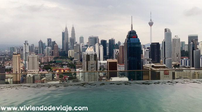 Piscina infinita Airbnb Kuala Lumpur