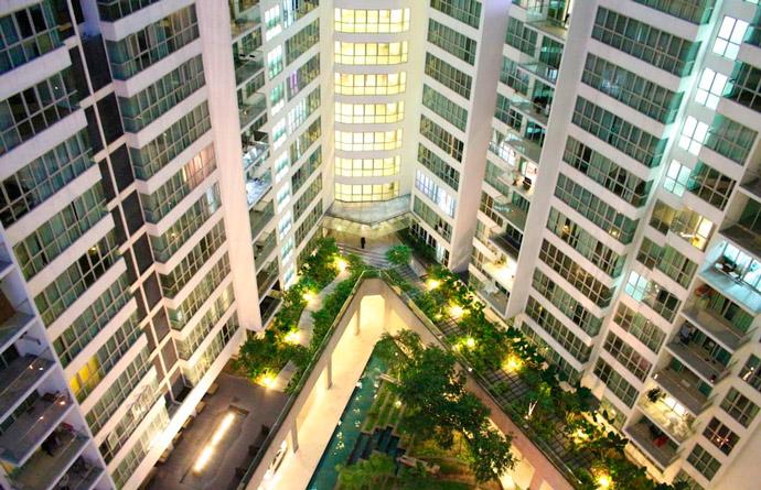 Vistas apartamento Airbnb en Kuala Lumpur