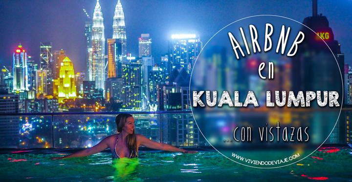 Airbnb en Kuala Lumpur, piscina infinita