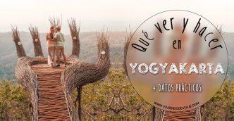 Qué ver y hacer en Yogyakarta