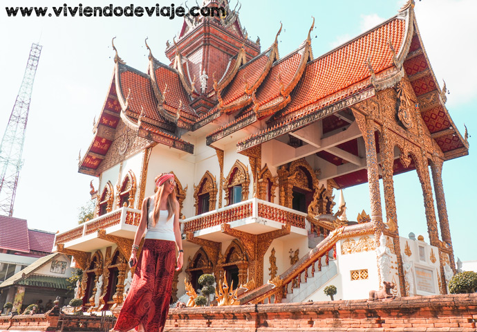 Templo Wat Buppharam en Chiang Mai
