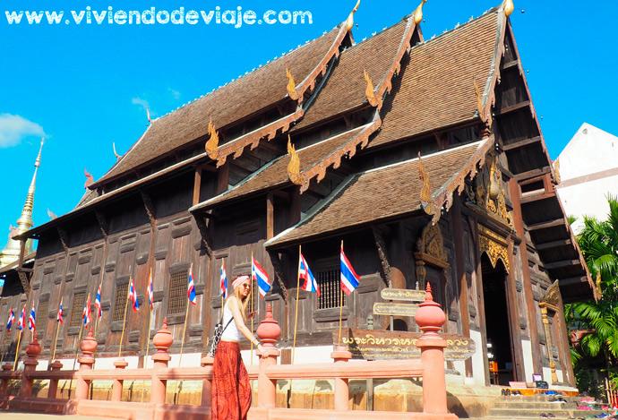 Templo Wat Phan Tao de Chiang Mai
