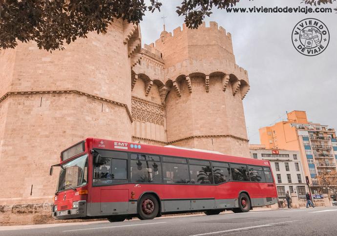 Cómo moverse por Valencia, autobús EMT