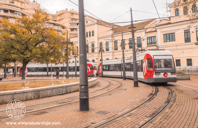 Cómo moverse por Valencia, tranvía