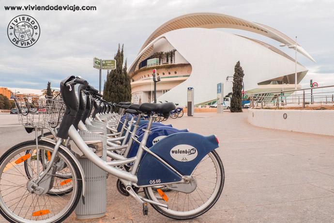 Recorrer Valencia en bici