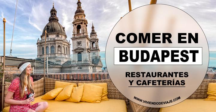 Dónde comer en Budapest, restaurantes y cafeterías