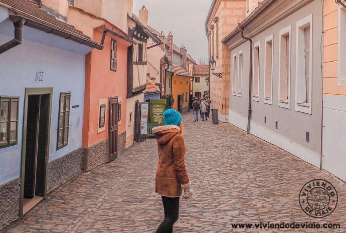 El Callejón de oro, una de las calles más bonitas que ver en Praga