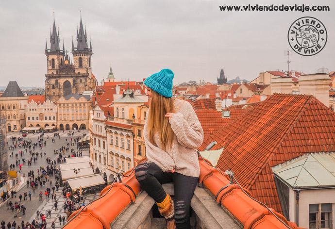 Que ver y hacer en Praga, vistas de la Plaza de la Ciudad Vieja