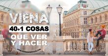 40+1 Cosas que ver y hacer en Viena