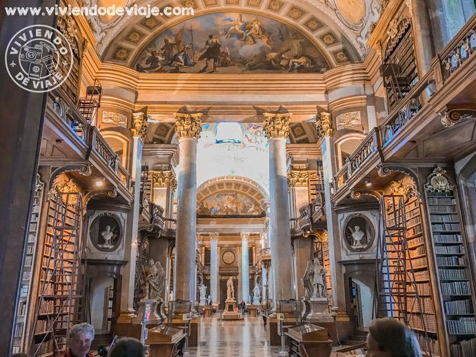 Que ver y hacer en Viena, Biblioteca Nacional