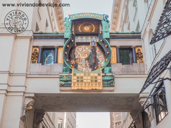 Reloj Anker, una de las cosas que ver en Viena