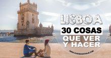 30 Cosas que ver y hacer en Lisboa