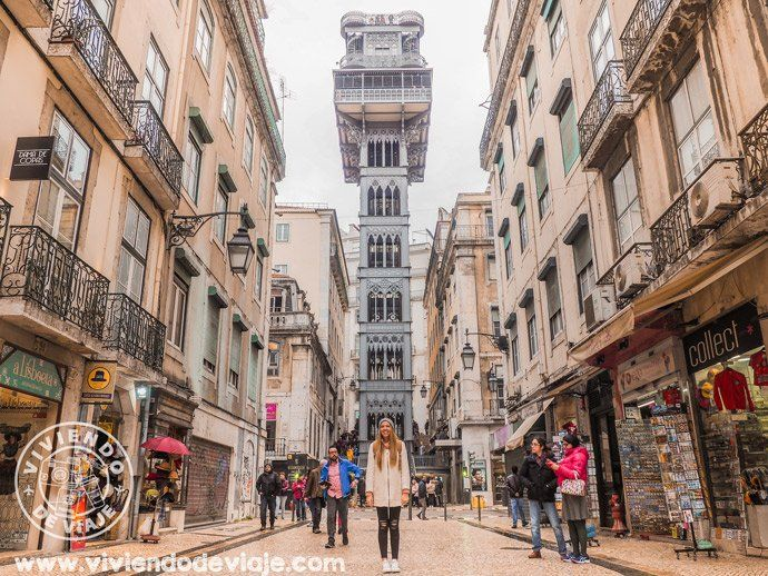 Que ver en Lisboa, el Elevador de Santa Justa en Lisboa