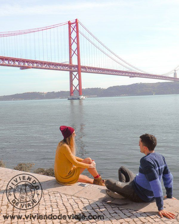 Vistas del Puente 25 de Abril, Lisboa