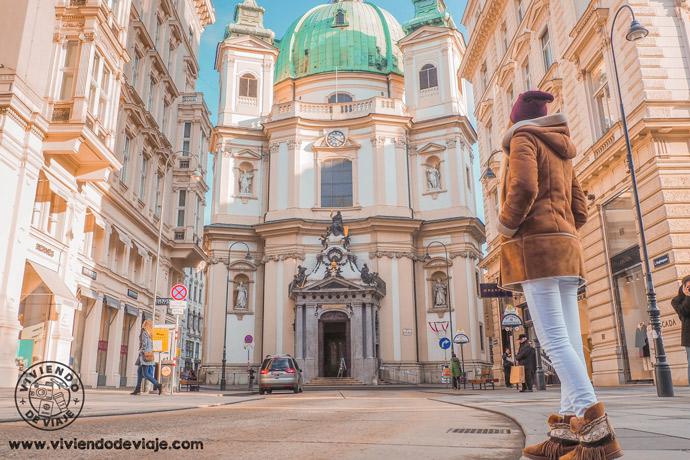 Iglesia de San Pedro, una de las cosas que ver y hacer en Viena