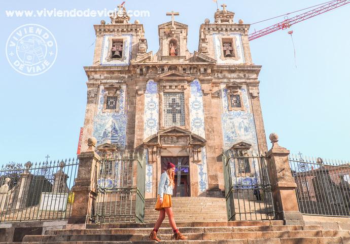 Que hacer en Oporto, iglesia de San Ildefonso