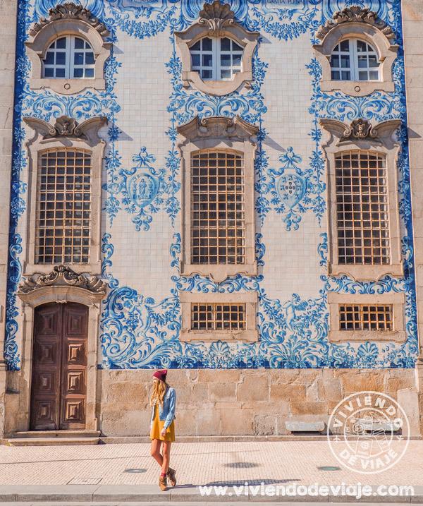 Que hacer en Oporto, Iglesia del Carmen
