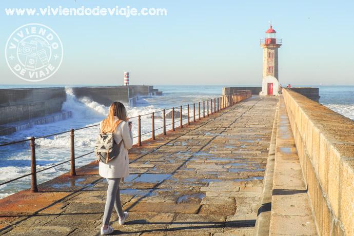Que hacer en Oporto, faro de Filgueiras