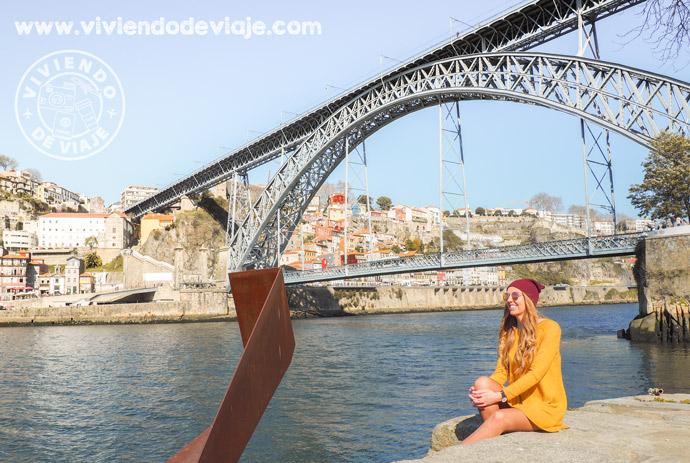 Que hacer en Oporto, puente de Don Luis