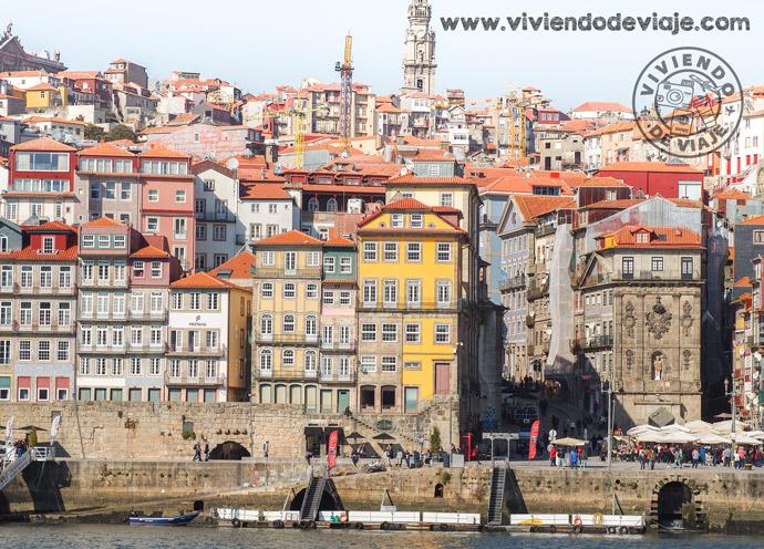 Que hacer en Oporto, vistas desde Vila Nova de Gaia