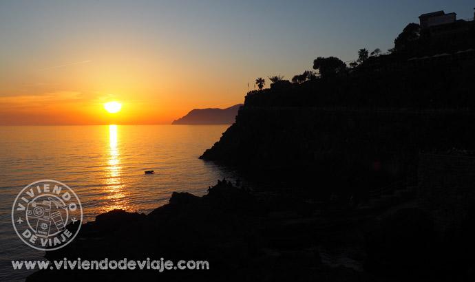 Ver en Cinque Terre un atardecer precioso