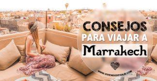 14 Consejos para viajar a Marrakech por primera vez