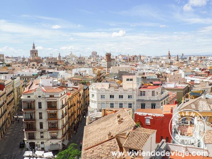 Mirador de Valencia, Torres de Serrano